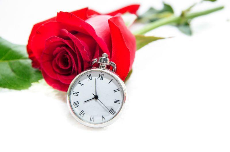 バラ 時計